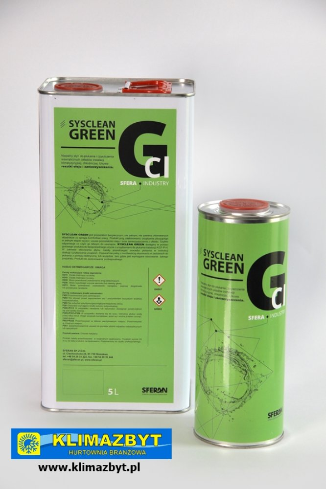 SYSCLEAN GREEN (5L)